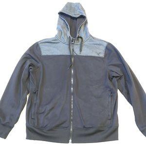 Men's AE Zip-Up Sweatshirt size Large